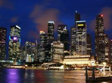 Singapure-night-view